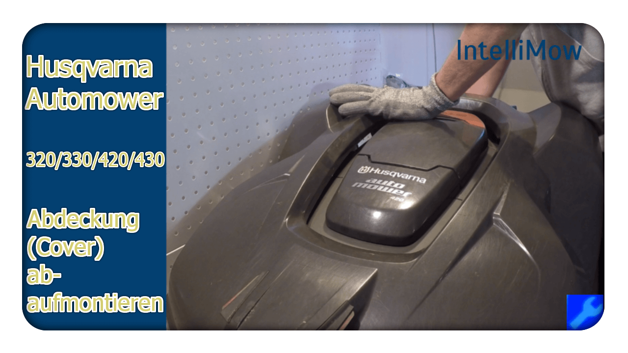 Automower Service Bild 3 Gehäuse abnehmen
